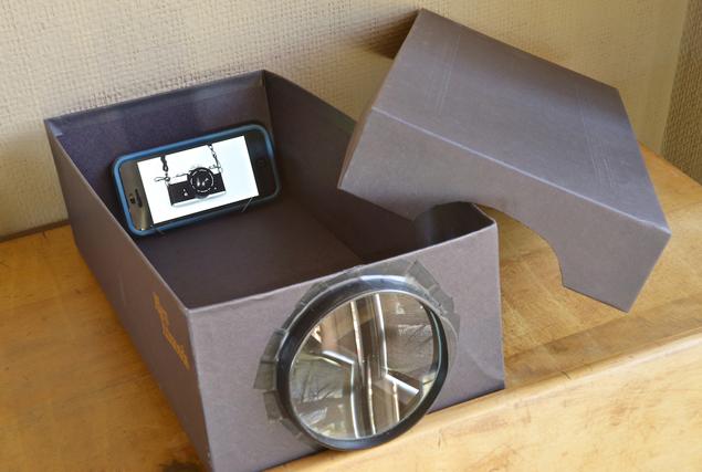 Как сделать домашний проектор